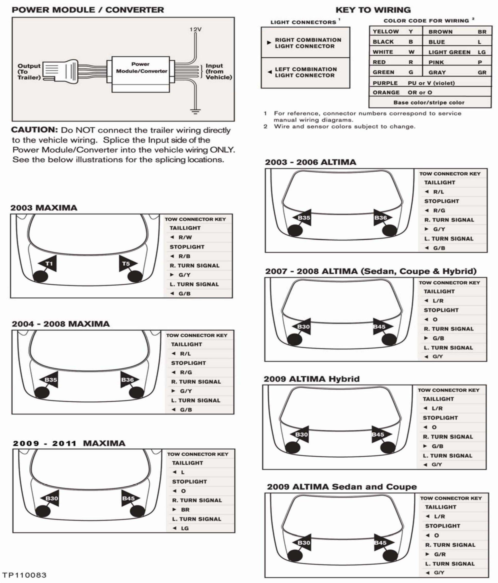 Nissan Altima Trailer Wiring Harness : Alldatadiy nissan datsun altima v l vq de